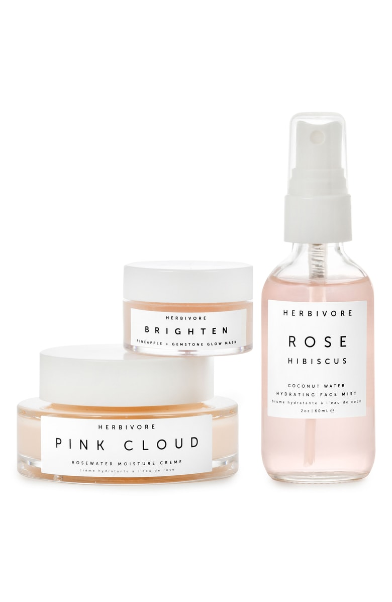 Herbivore Botanicals Rosewater + Gemstone Trio - Herbivore Botanicals is one of the