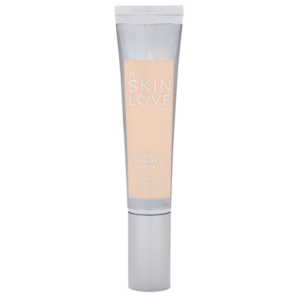 Becca Skin Love Weightless Blur Foundation - Becca's new Skin Love foundation is said to deliver a medium coverage skin like finish that is infused with skincare properties to help