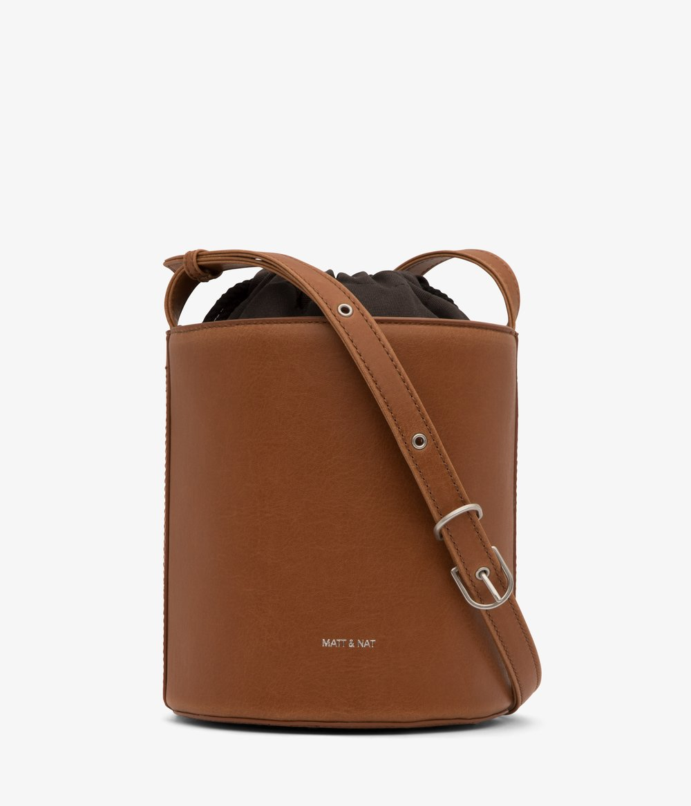 Bini Bucket Bag in Chili - $125