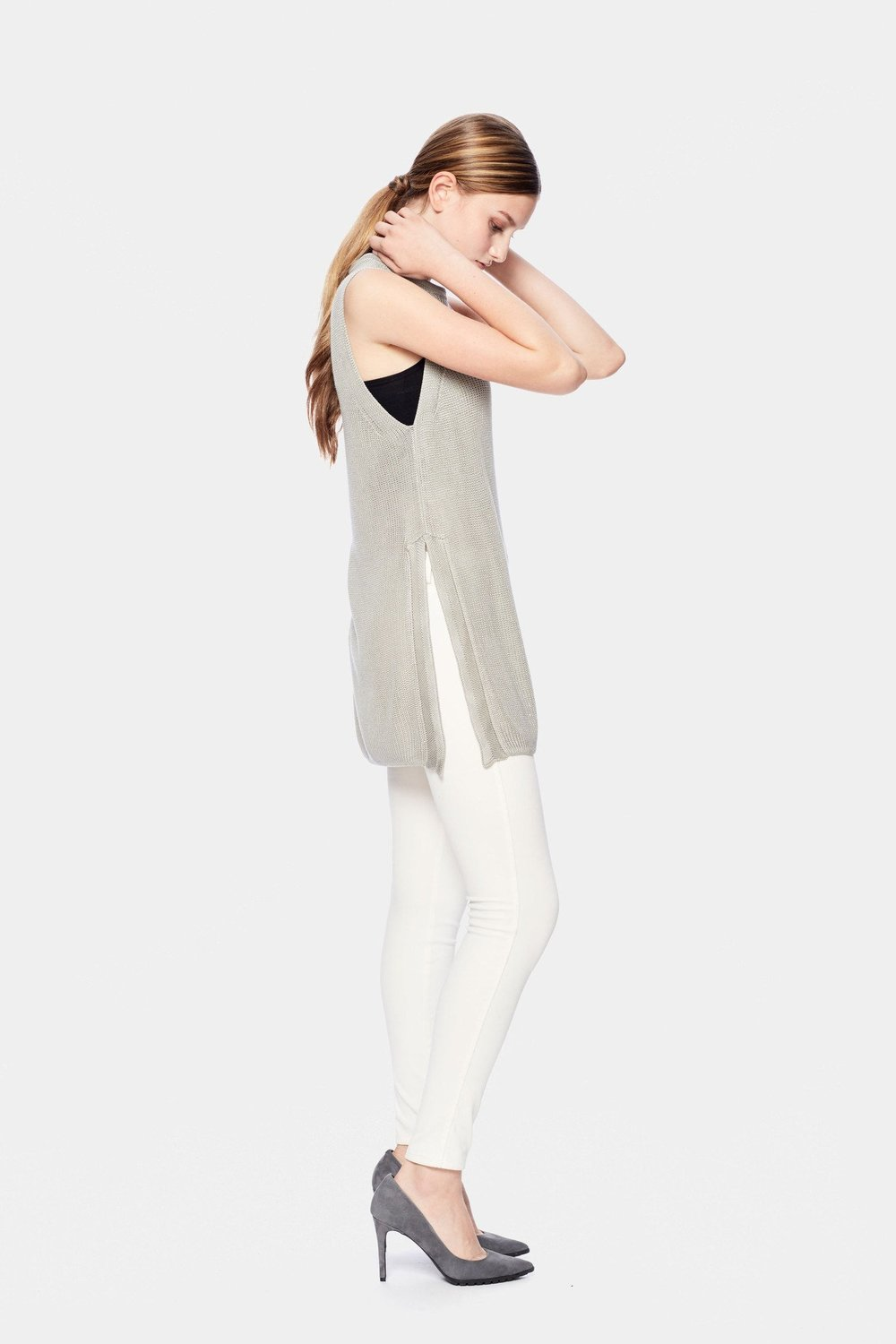 Munin Sleeveless Sweater - $55