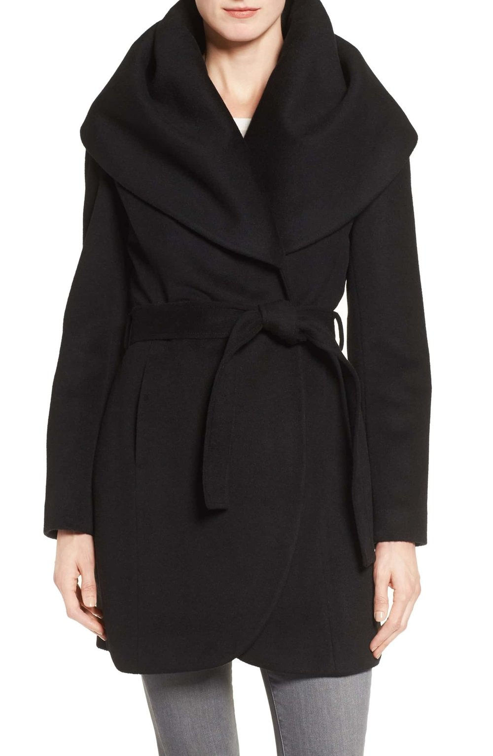 Nordstrom Black Friday Sale - Nordstrom's Black Friday sale is filled with so many good things! There are hundreds of pages of clothes, shoes, home and more at up to 60% off! This T Tahari Wool Blend Belted Wrap Coat is so stunning — very Meghan Markle, if you will. Other favorites are the Topshop Moto Jacket (a real score at $52!), and Barefoot Dreams Cozychic Socks for only $10.05 (the perfect stocking stuffer!). If you have clothes on your list for yourself or others this is not a sale to be missed!
