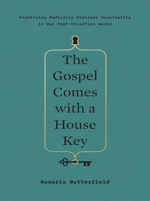 "The Gospel Comes with a House Key by Rosaria Butterfield - Personal Book Club Pick of the MonthRating: 5/5Rosaria Butterfield is a well-known name in the Christian community. She is most known for her testimony of coming to Christ when she was a lesbian and professor of English and Women's Studies at Syracuse University. Post-salvation she became a speaker, author, pastor's wife, and mother. This book focuses on the current lack of hospitality to strangers and its importance in playing a role in people's live physically, emotionally, and spiritually. She speaks on hospitality through anecdotes of her life pre and post salvation giving scriptural evidence for every thought on the subject. This is not a how-to to be hospitable book with chapters on 5 ways to love your neighbor, ect. This books focuses on the calling Christians have to be hospitable with their time, money, and home because we are ambassadors for Christ and nothing we have is our own. I highly recommend this book for anyone, single or married, young or old. This book will convict you from the get-go in the best way! One note: When reading reviews online some thought she was using her life as a way to show how great at hospitality to she is, but I assure you that is not her motive. She is passionate about hospitality and works hard for it daily because of her love for Christ. I'm grateful to have read stories from throughout her life that have show me practically how hospitality changes lives.Is it a must read? Yes!! Christians are always quick to ""fellowship"" with other Christians but not so quick to do so with their unbelieving neighbors and coworkers or as least not as openly. This shows practical ways to show the world who Christ is and not in a ""holier than thou"" way."