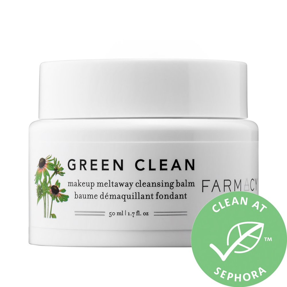 Farmacy Green Clean Makeup Meltaway Cleansing Balm - I don't ever use makeup wipes and also am not a huge fan of oily bio-phase makeup removers, so cleansing balms are my favorite way to take off my makeup. Farmacy's Green Clean is super effective (even against waterproof mascara) and never feels oily after or drying! I follow up with my usual cleanser and my skin is in HEAVEN. I just finished my second tub last night!