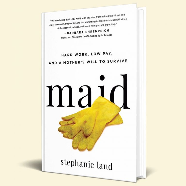 """Maid by Stephanie Land - Rating: 4/5Non-fiction is not everyone's jam but I LOVE it. Everyone leads such an unique and interesting life and if they have gone through enough to write a book about it, I definitely want to read about it. Stephanie Land's Maid, follows her life as a single-mother living in poverty and fighting the system and working as a low paid maid to pay her bills, feed her child, graduate from college, and dreaming about living in Missoula, Montana as a writer. Maid shows you the sad and frustrating truth about the welfare system in this country, how it is almost impossible to get in and out of and what it's like to be treated as a """"poor person"""" living off the government when it is your only option to live. I felt both completely sick to my stomach and moved to tears when I read about the man who annoyingly and condescendingly told her, """"You're welcome"""" as she paid with her EBT card at the grocery store. Maid is a fast read that will move any reader. Land doesn't ask for your pity but for your support in changing the system so those who work hard to get out of poverty can do so without the shame that """"poor"""" usually comes with.Is it a must read? Yes! I think empathy is something many people lack these days and Maid will open your eyes to that in a big way."""