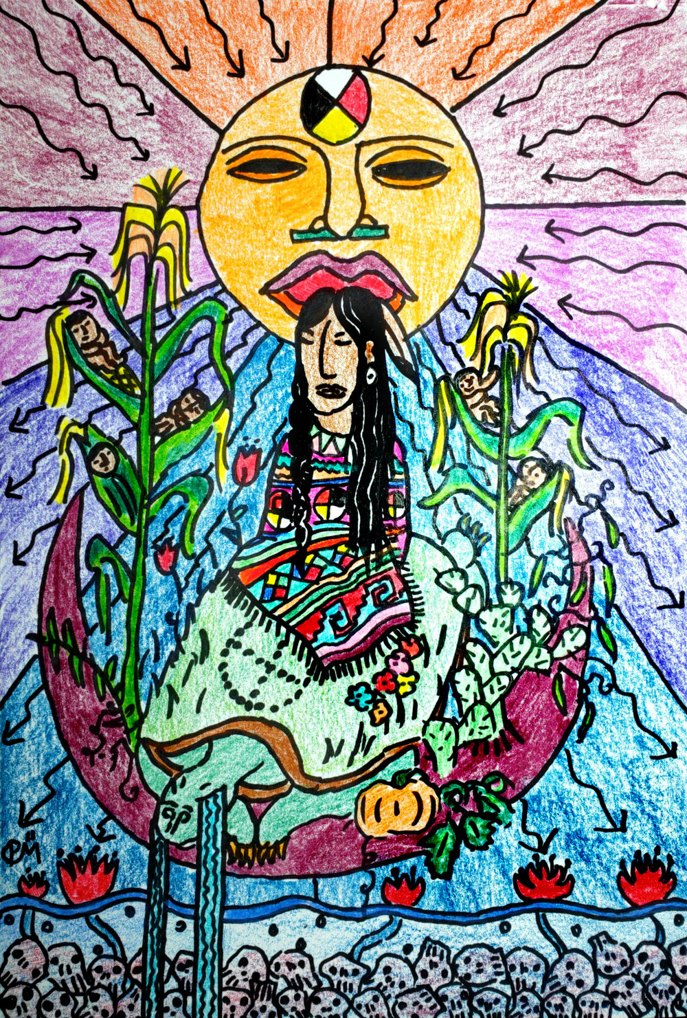 Art by Paulino Mejia
