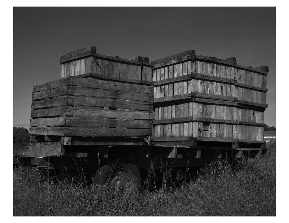 Rustic Wood Crates. Hadley, MA.