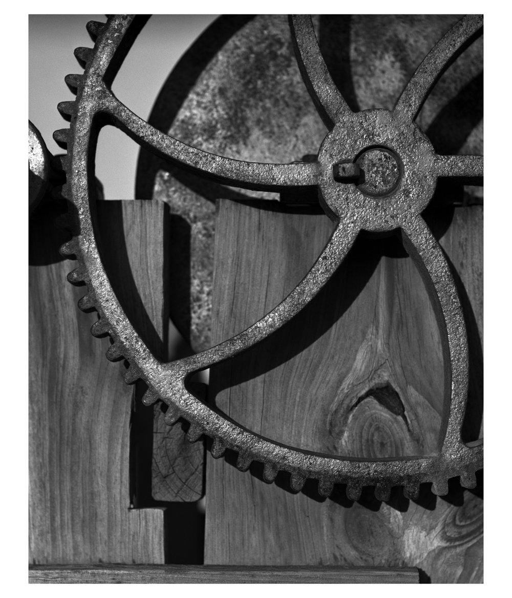 Cast Iron Gear. Hull, MA.