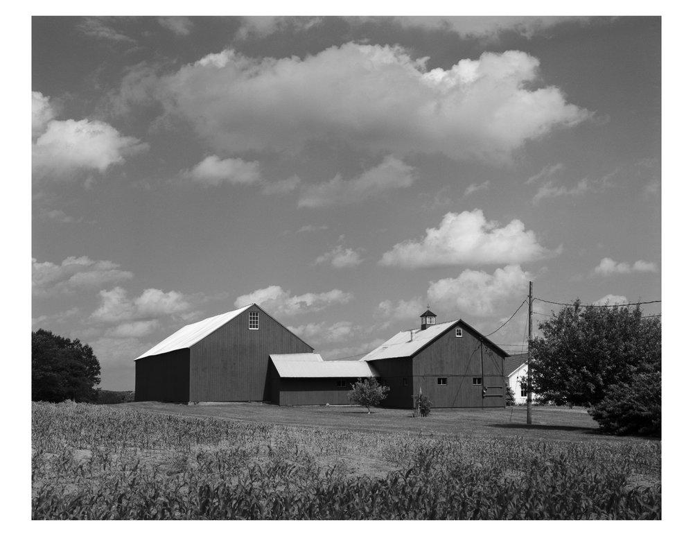 Barns. Litchfield, CT.