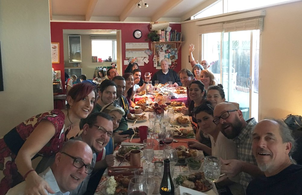 Thanksgiving 2016: We had a lot of piggies at our table, but no elephants!