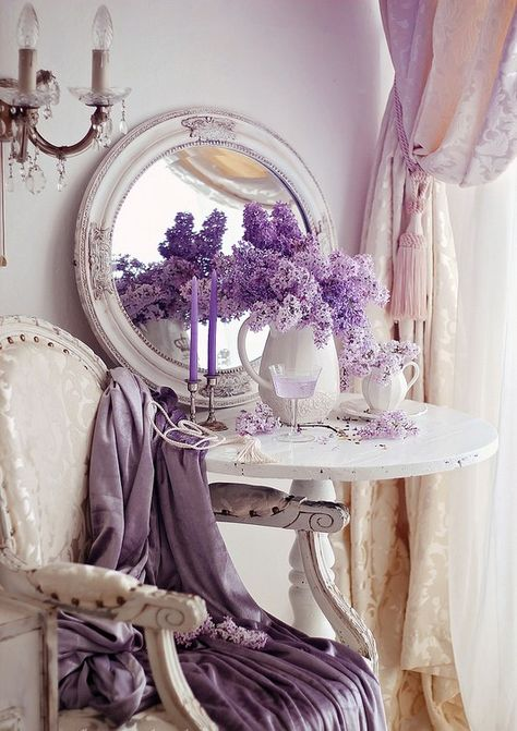 Purple Shabby Chic