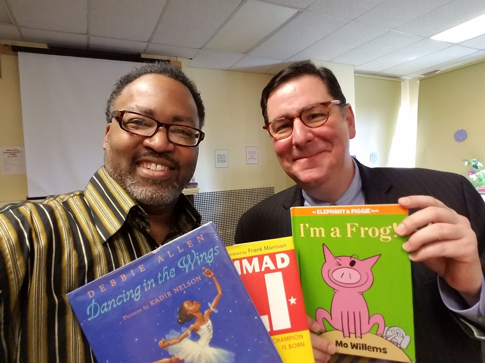 Mayor Peduto was on hand as well