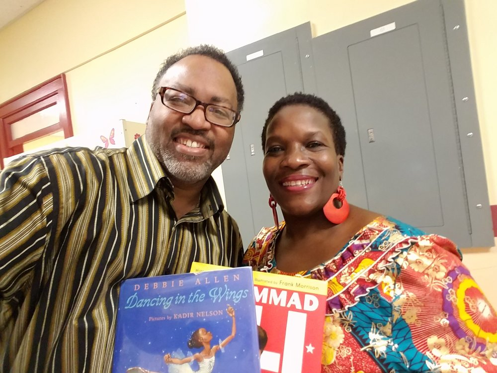 Miller principal, Dr. Margaret Starks and I went to middle school together.