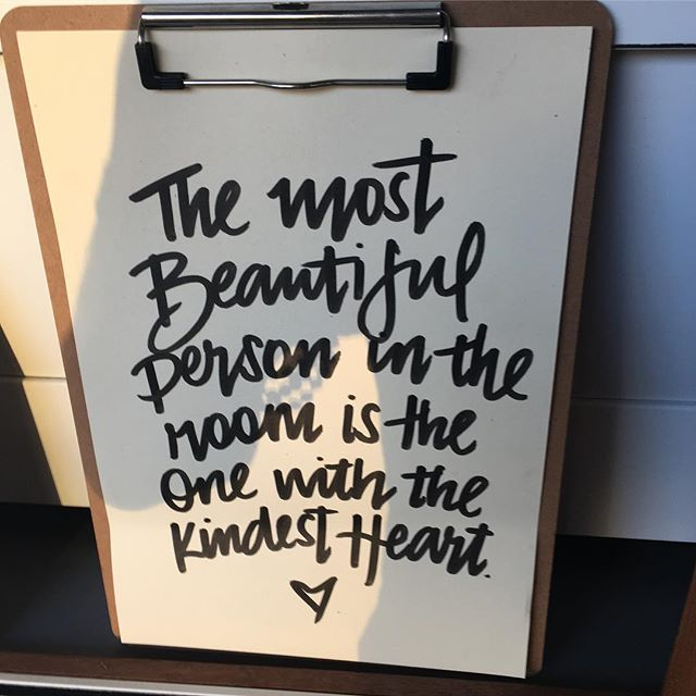 Beauty is in the heart of the beholder. #morningmetta