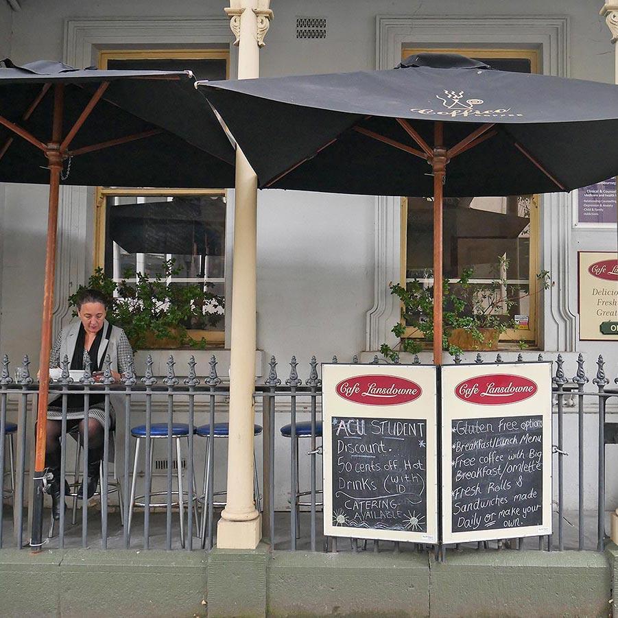 Cafe Lansdowne, East Melbourne