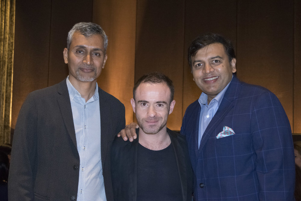 Abdul Hameed Khan, Greg Fosters, Editor AD and Kekin Shah (L-R) .jpg