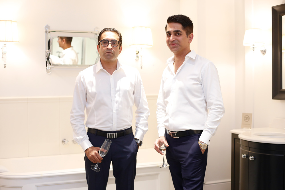 Jaideep Thareja,  Architect, New Delhi, and  Ravish Vohra,  Director and Interior Designer, Ravish Vohra home, New Delhi