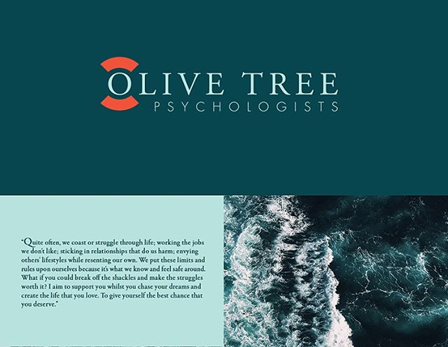 NEW WORK // WWW.ILLUME.TV Branding, identity, website and printed collateral for Olive Tree Psychology - providing accessible and holistic support to the community in a refreshing approach to psychology that focuses on mindfulness based techniques. #branding #identity #design #creative #mindfulness #meditation #deepbluesea #psychology #sydney #ocean #colourpalette #graphicdesign #adobe #creativedirection #artdirection #brand #nature #print #printdesign #web #webdesign