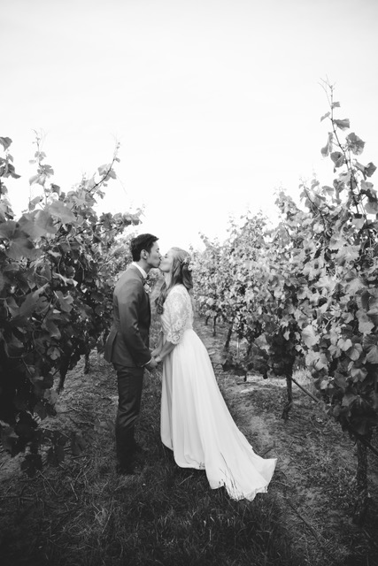 Myra & Nick  |  Frogmore Creek Wines, Tasmania