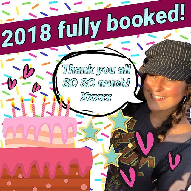 I APOLOGIZE FOR THIS irresponsible, preposterous edit that's now ruined your scrolling. BUT! I just wanted to shout a humongous THANK YOU💞 for such a MARVELOUS✨ year; my 2018 books are now closed!! I'm finding myself penciling in new, exciting orders for 2019 ~4x daily, 🤯! Like my grandmother used to say, an early booking ensures the icing! (by « my grandmother » I mean me in 50 years) All contact info is in my bio! MERCI MERCI MERCI!!!! Xxxxx