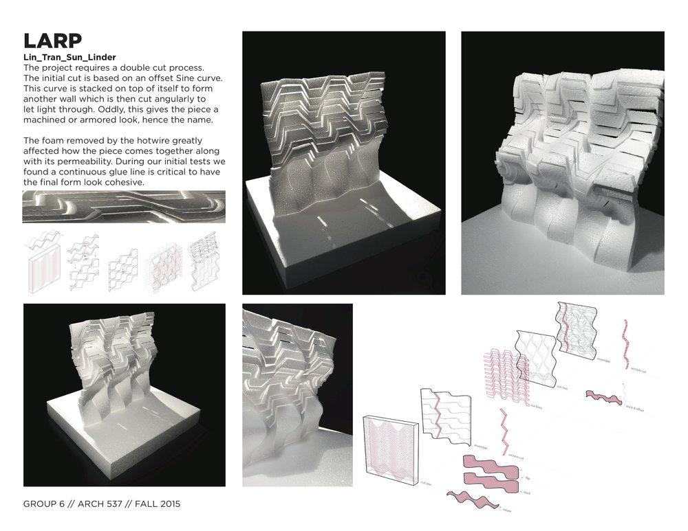 Robotic Arm Foam Cut