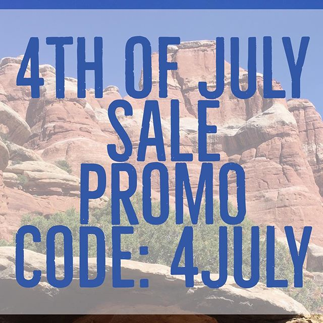 It can feel like it's hard to be patriotic these days, but there is still a lot to be proud of! Such as our great national parks! We are celebrating our pride with a 4th of July Sale! Use promo code 4JULY at checkout for 10% off your purchase!