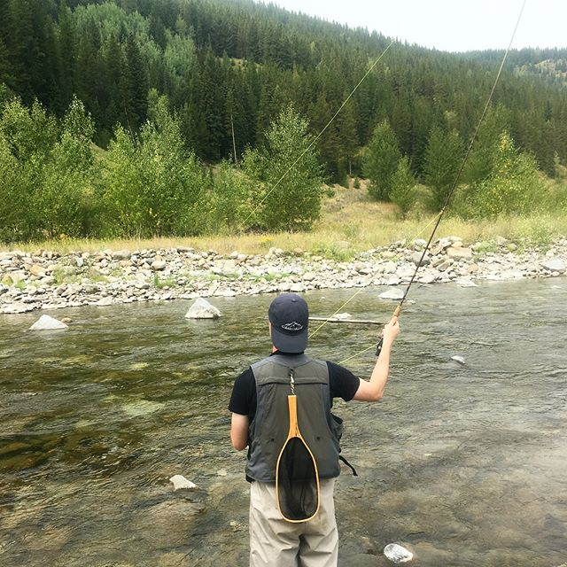 It's a little smokey here in BC but the river always provides. Hats $25 for your adventurous needs!