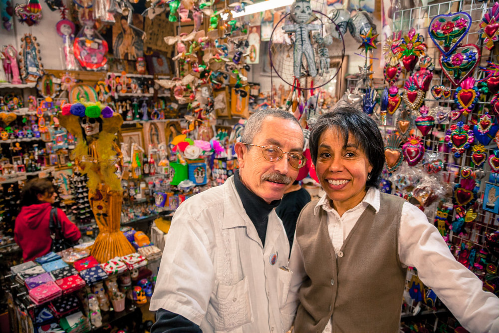 MIKE AND ROSA MARISCAL, MYROSA OLVERA ST