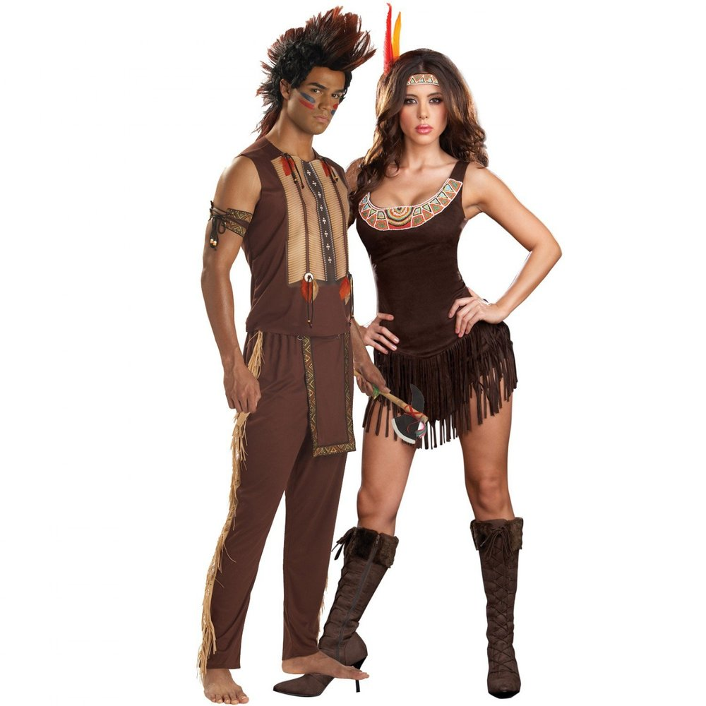 Typical Native American Halloween costumes