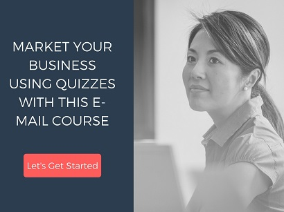 Email Course - Market Your Business Using Quizzes
