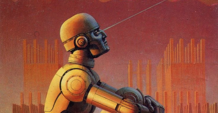Cover of Isaac Asimov's Robot Visions
