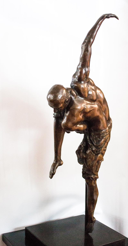 Dancer 91.35.12 cm Bronze