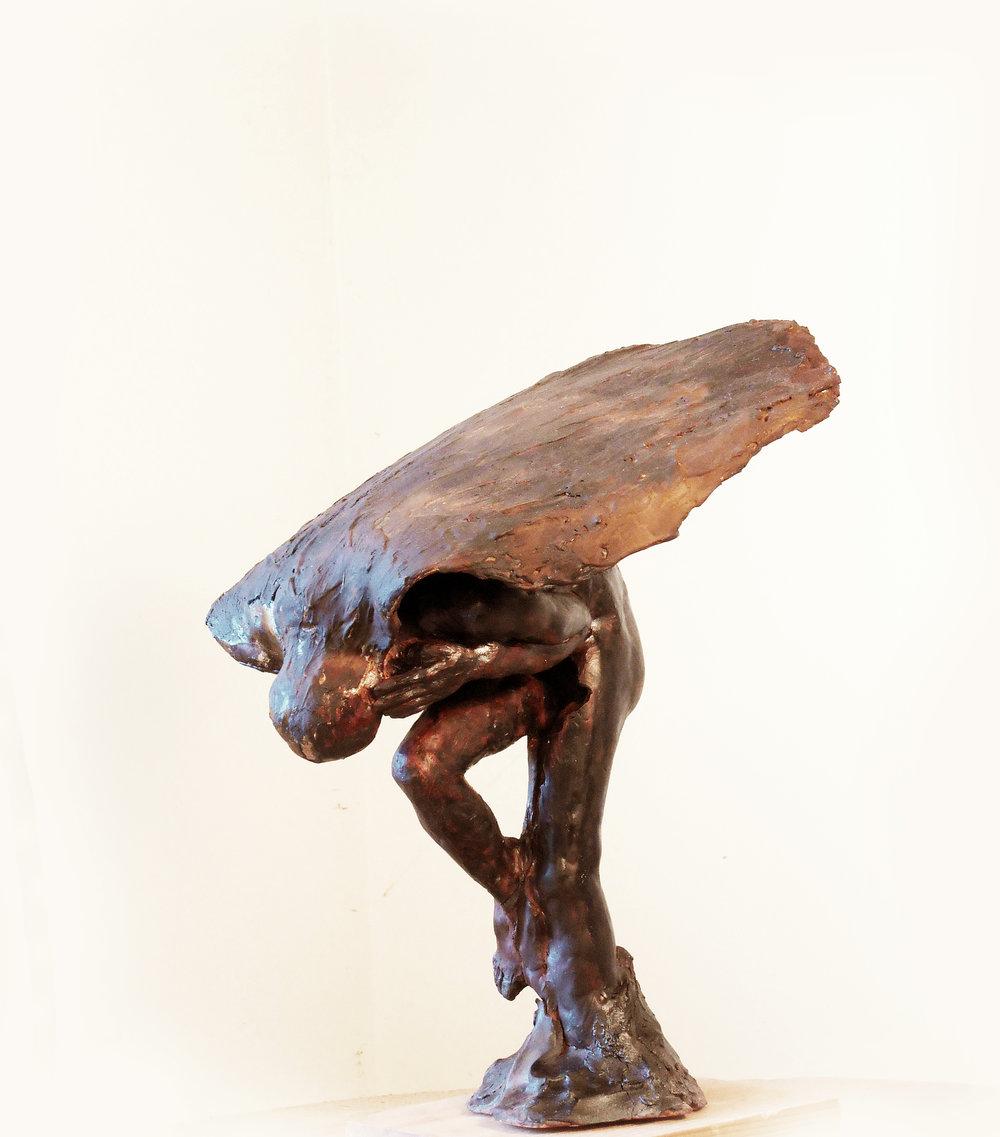 Seven veil 15.35.17 cm Bronze