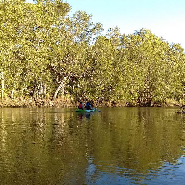 Kayaking on Deepwater creek is simply amazing