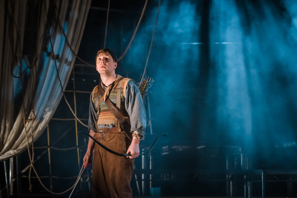 Wendy and Peter Pan   by Ella Hickson   Royal Lyceum, Edinburgh   Directed by Eleanor Rhode Designed by Max Johns Music & Sound by MJ McCarthy