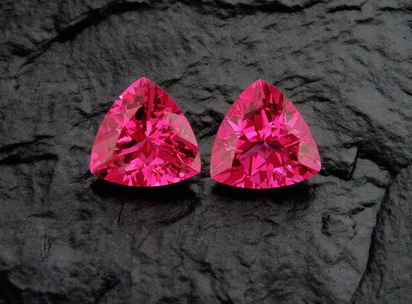 Neon Pink Red Spinel