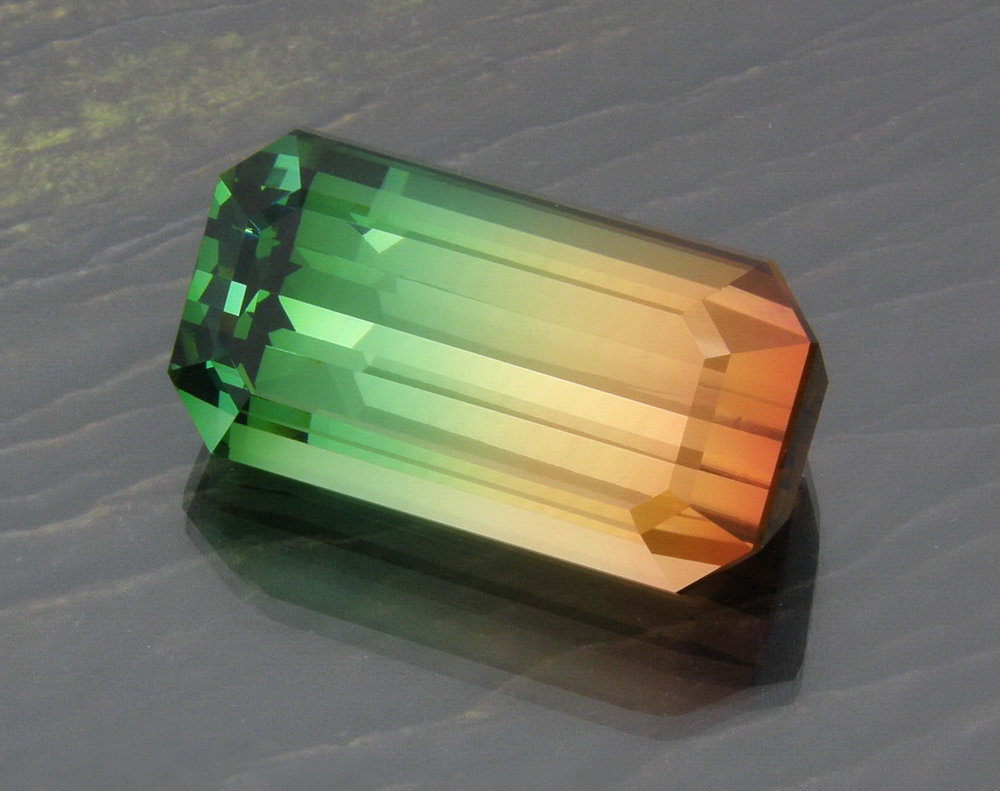Bi Color Tourmaline