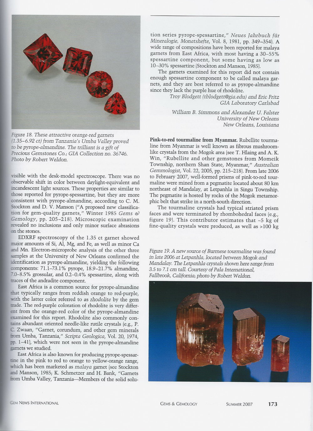 Gems & Gemology - Summer 2007 p.1