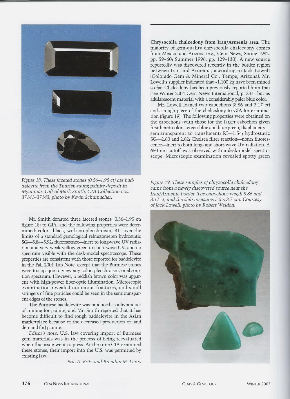 Gems & Gemology - Winter 2007 p.2
