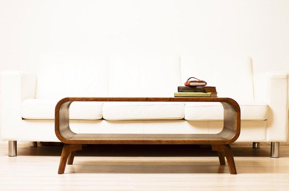 modernus prabangus kavos staliukas. ąžuolo masyvo svetainės staliukas