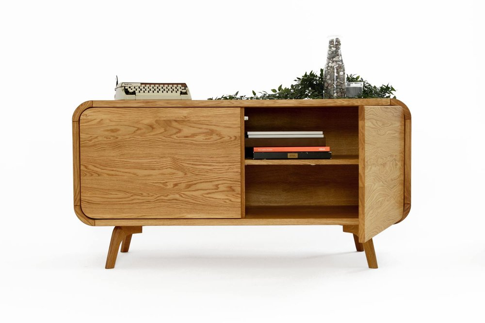 Solid Oak Furniture - Made for generationsUnique Art Deco styleNatural and Free of harmfull substances