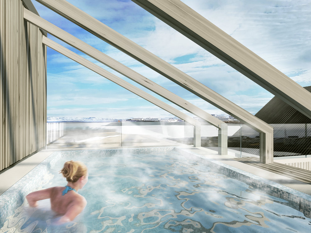 A Sitting Pool with a View - A perfect place to relax after a day exploring the areaOpening in Oct.2017