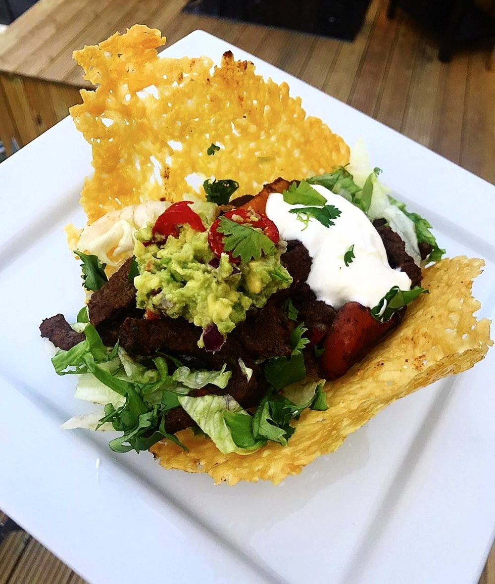 Mexican Beef Cheesy Tacos