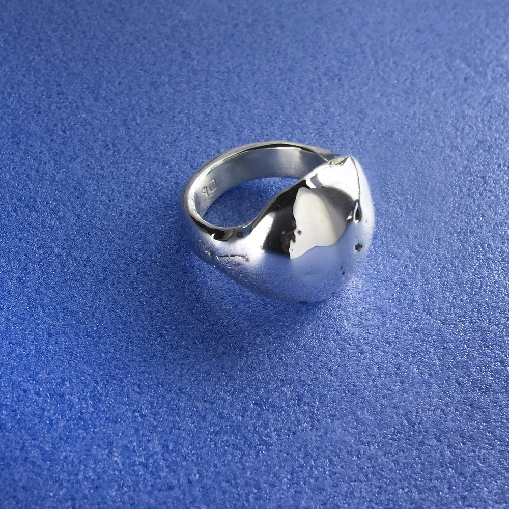 Ring for Gina's Mum | Sterling silver.