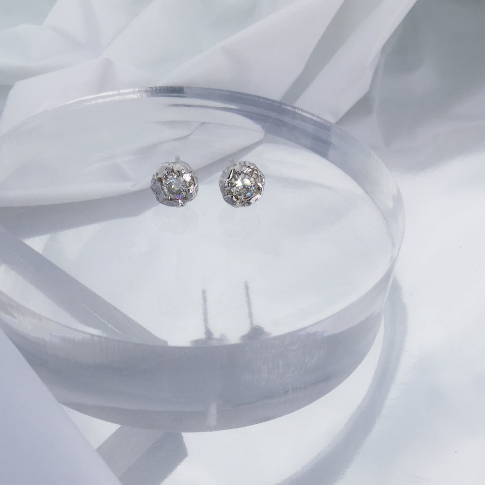 Diamonds For Natalia | 9ct white gold with given diamond from family heirloom.