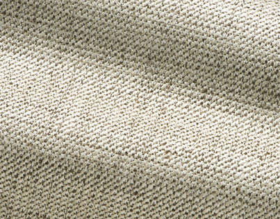 One of the most versatile fabric's in the collection is the 'Antigua' pattern. It is highly durable and made of viscose and linen. The texture of the fabric appears like tweed cross with straw and linen, it comes in twelve colour ways.