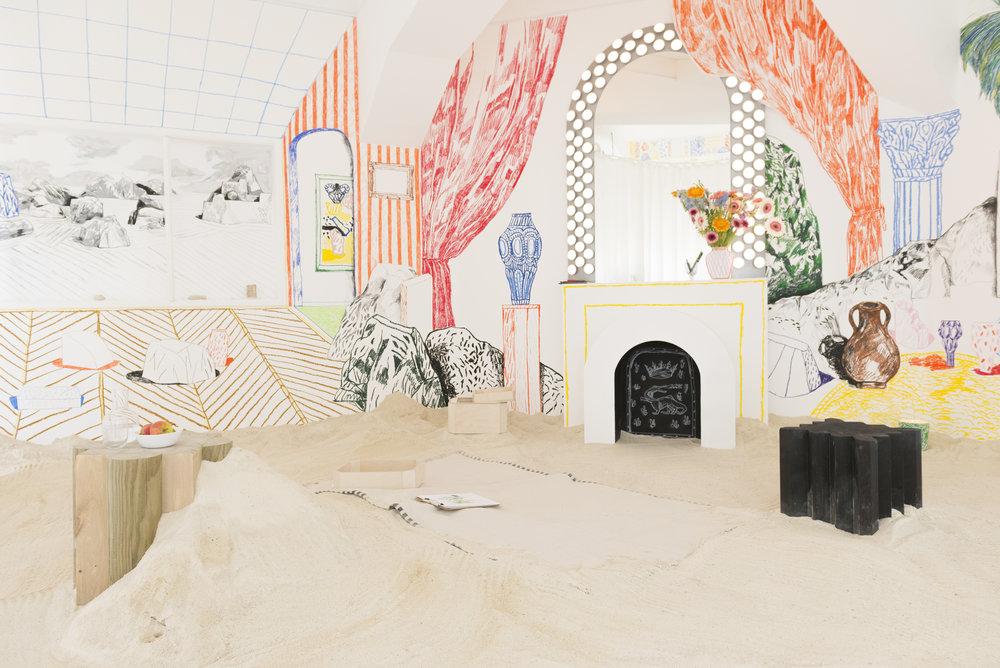 Alexandre Benjamin Navet et Paul Brissonnet,  Imajaghan pièce à vivre , 2017, Design Parade Toulon