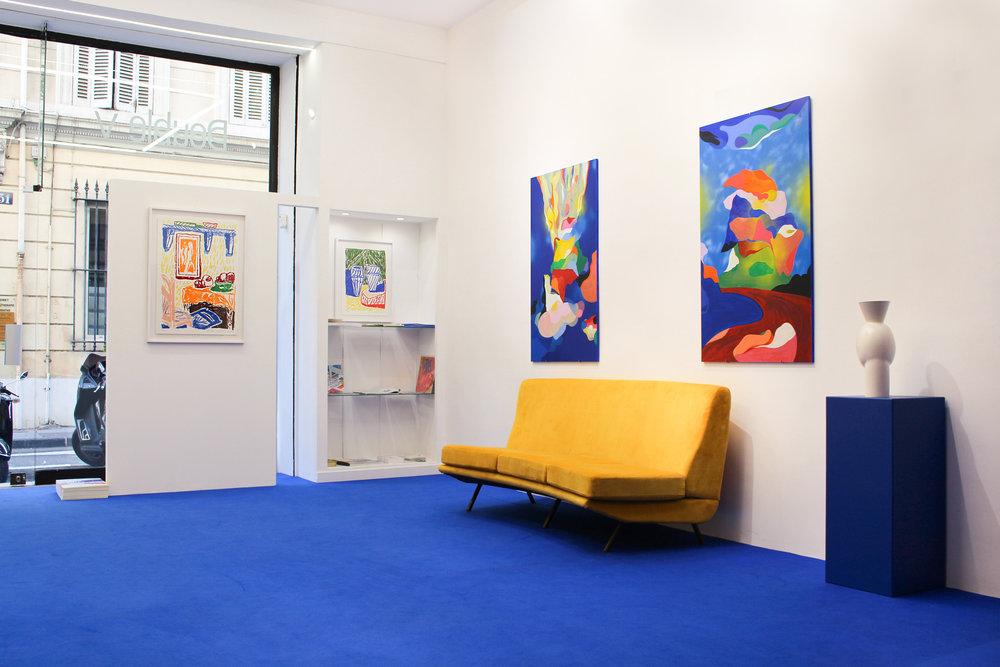 Vue d'exposition La Cage aux Fauves _ Alexandre Benjamin Navet _ Florent Groc _ Double V Gallery _ Marseille.jpg