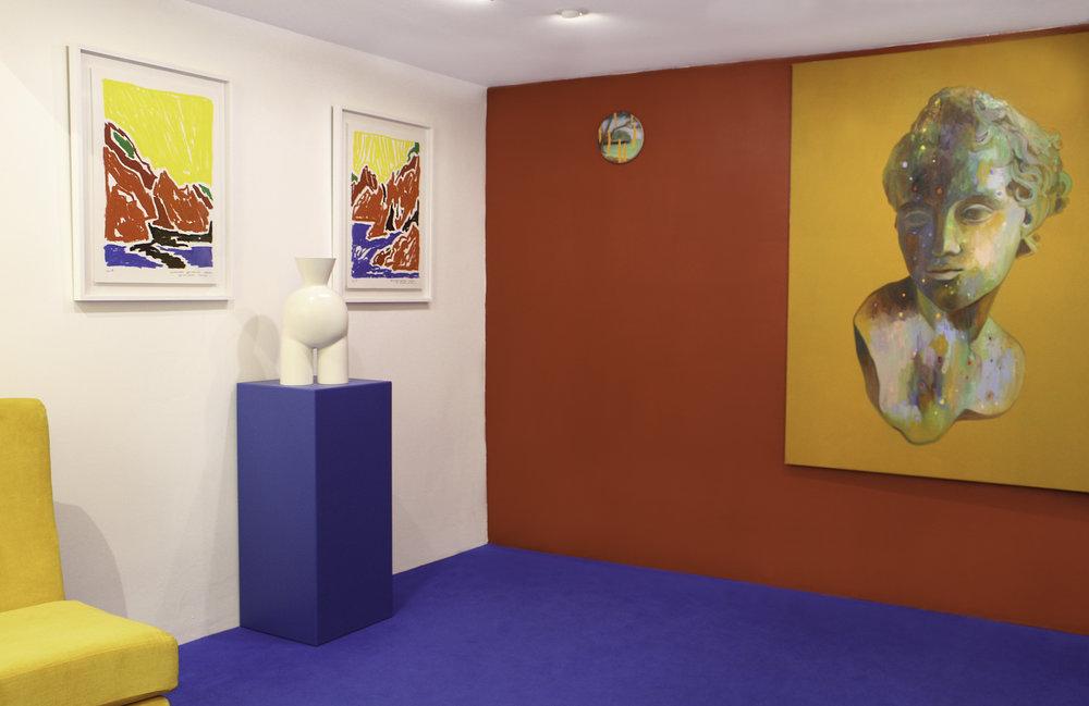 06 Vue d'exposition La Cage Aux Fauves _ Valentina Cameranesi_ Alexandre Benjamin Navet _ Coraline de Chiara _ Double V Gallery_Marseille.jpg