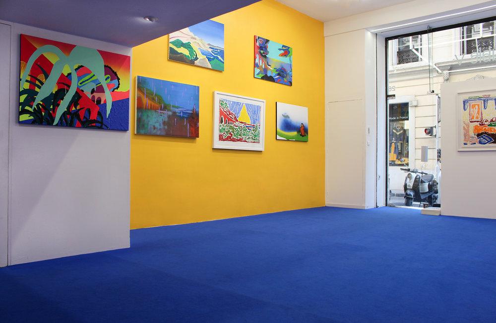 Vue d'exposition la Cage aux Fauves _ Double V Gallery _ Marseille _ 1.jpg