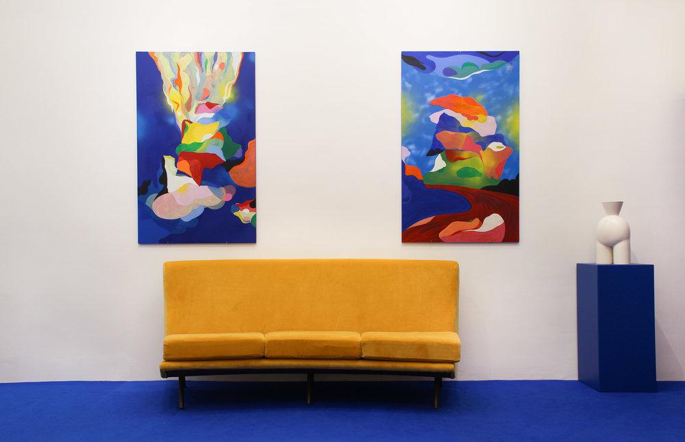 Vue d'exposition la Cage aux Fauves _ Florent Groc _ Valentina Cameranesi_ Double V Gallery _ Marseille.jpg